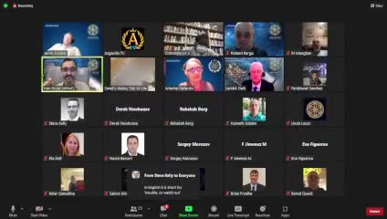 Q&A session with Chair of Parliament on 02-Sep-21-20:52:12