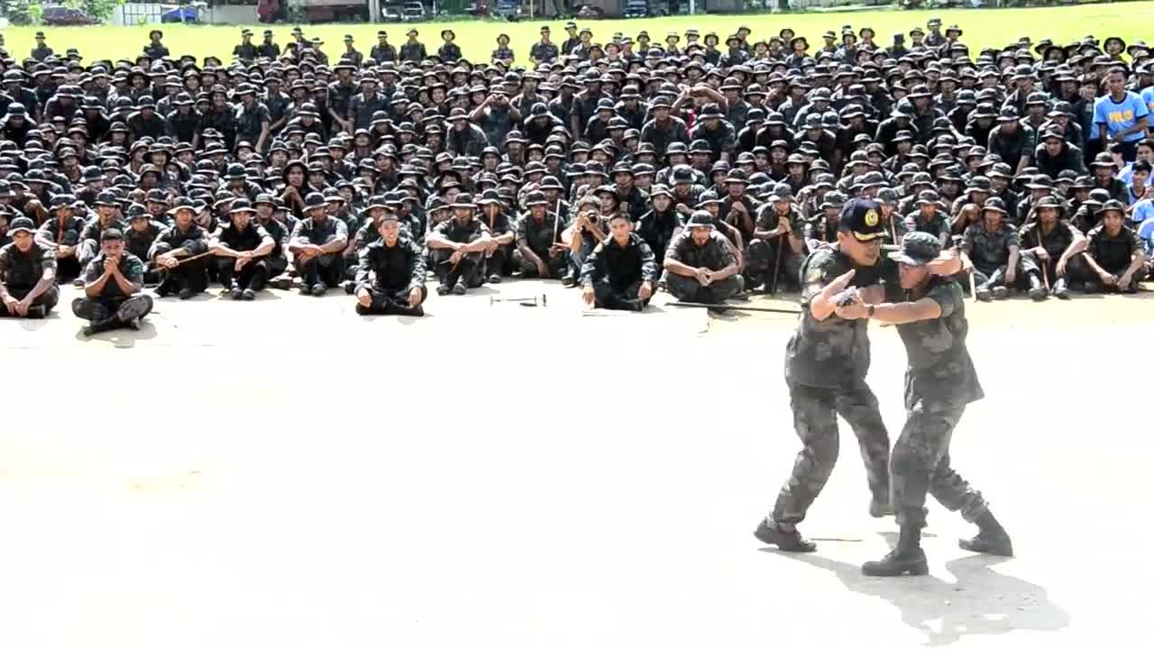 The Pekiti-Tirsia Lakan Kali - P/Supt Serafin Fortuno Petalio II, DSC (Demo)